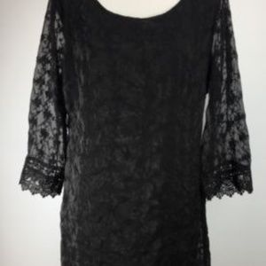 Anthropologie Nick & Me Dress SZ M Lace NWT J186